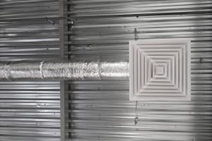 ventilation accommodates heating and cooling
